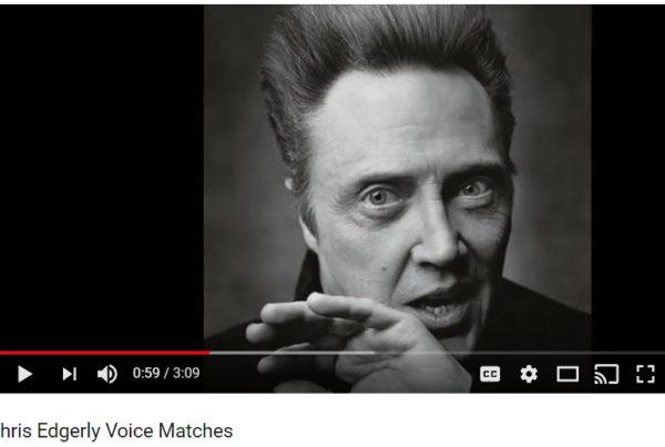 Voice Imitation: Chris Edgerly Voice Matching Compilation [Video]