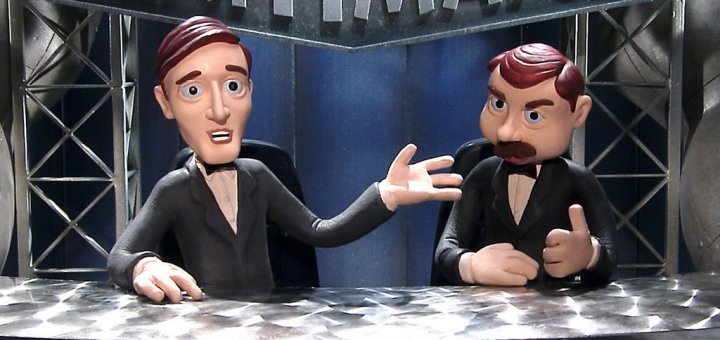 Chris Edgerly as Nick Diamond on Celebrity Deathmatch