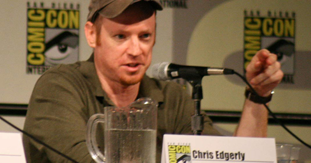 voice actor Chris Edgerly