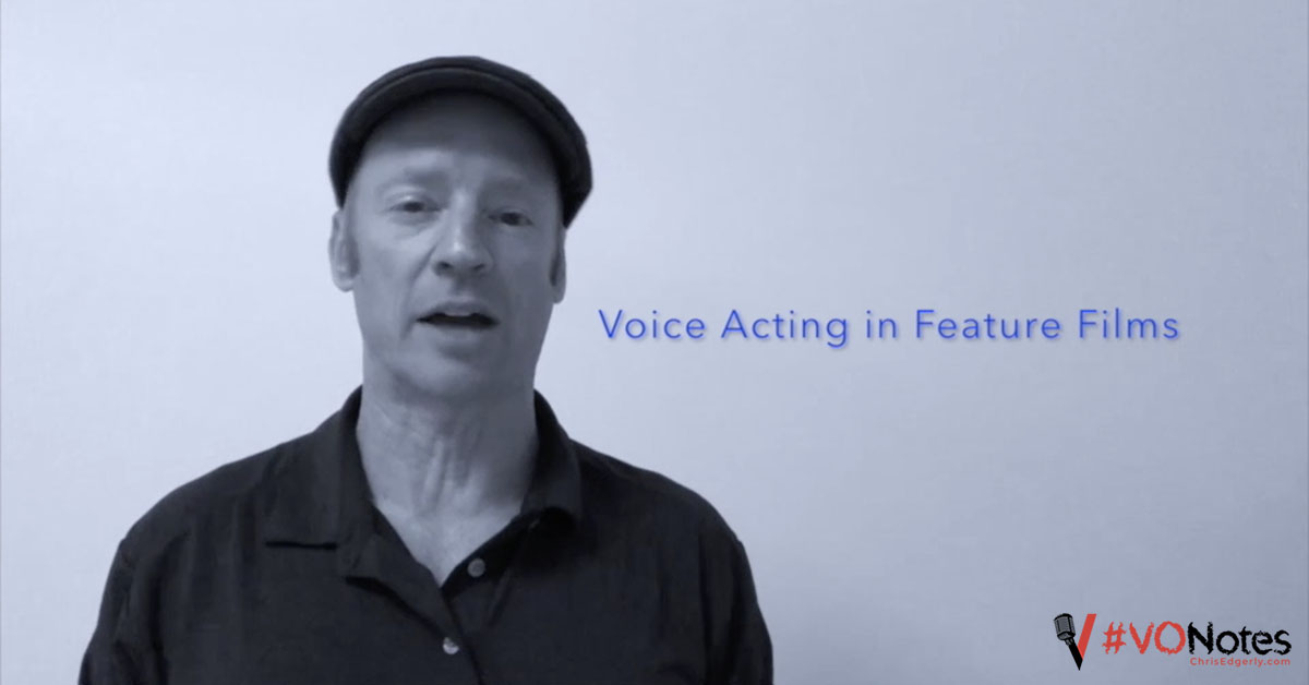 voice acting in movies