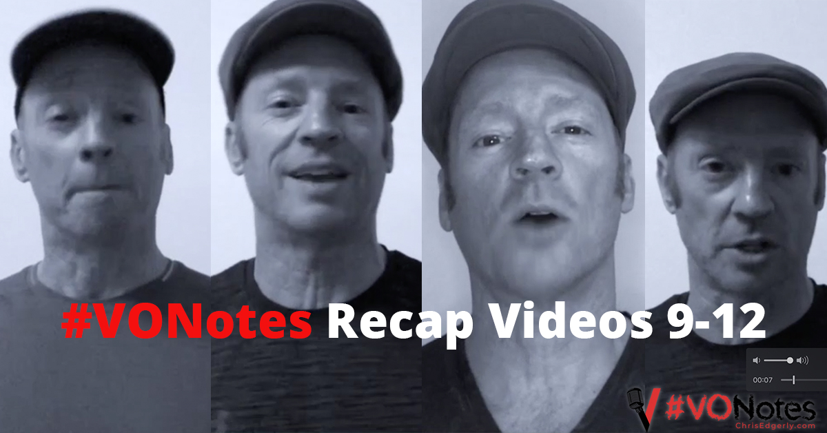 Voice Over Notes