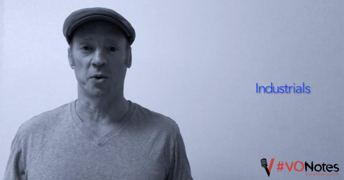 Voice Acting Industrials #VONotes